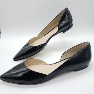 Marc Fisher Sunny D'Orsay patent leather flats 11